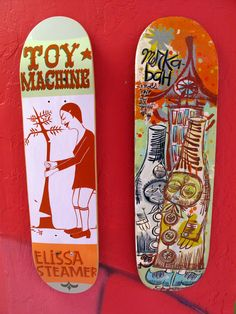 Margret & Thomas Campbell Skate decks