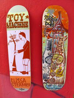 Margret & Thomas Campbell Skate decks