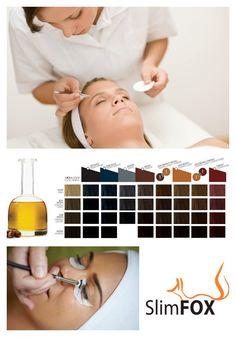 NOVINKA: Používáme inovovanou formuli barev na řasy a obočí obohacenou arganovým olejem a keratinem. Jednotlivé odstíny těchto barev můžeme mezi sebou míchat a docílit tak finálního odstínu, který skvěle koresponduje s barvou Vašich vlasů. Keratin, Face, Keratins