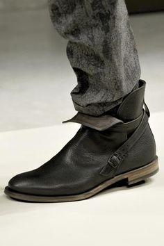 Мужская модная обувь зима
