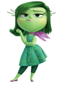 Disgust - Disney Pixar Inside Out