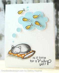 Simon Says Stamp pillow talk  card - CAS - bjl