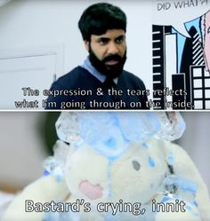 I really wanted him to win taskmaster he was so funny Uk Comedians, English Comedians, Paul Chowdhry, 8 Out Of 10 Cats, British Comedy, British Humour, Funny Google Searches, Tv Shows Funny, Are You Not Entertained