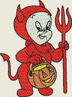 Embroidery design Casper -Halloween