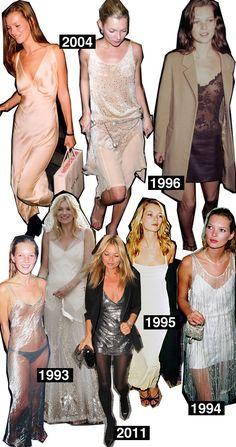 Kate Moss - Master of the Slip Dress @Commandress Fashion Flashback