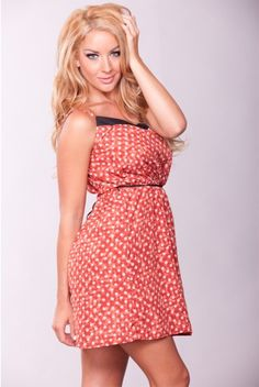 Polka Dot Dress - only $12.99! This site has the deals