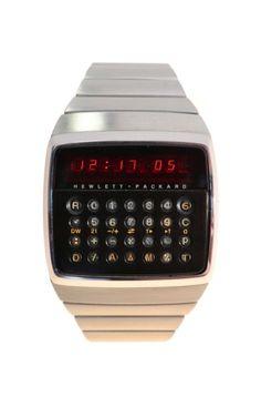 Hewlett Packard HP-01 Calculator Wristwatch | eBay