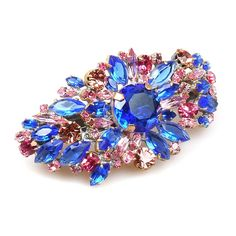 "Extraordinary rhinestone hairclasp, size 3.20"" x 2.00"", made for MK Spring/Summer 2013 Collection   . Price: $29.90"