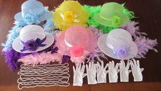 children's tea sets | Children's Childs Kids Dress Up Tea Party Set for Six Hats Boas Gloves ...