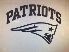 New England Patriots Logo NFL Vinyl Car Decal 100% Weather Proof 6 Life #CUSTOMDECAL #NewEnglandPatriots