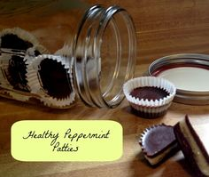 healthy peppermint patties (coconut oil)