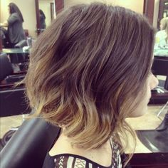 ombre on short hair...i love it, & you can have it. go to StyleSeat.com/TeresaVozzy