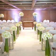 Church decor church pew wedding decorations church wedding flowers in the aisle junglespirit Choice Image
