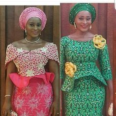 Gorgeous Clothes on traditional african fashion 213 African Blouses, African Lace Dresses, African Fashion Dresses, African Outfits, African Attire, African Wear, African Style, African Beauty, Nigerian Outfits