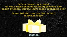 Green BakeBox really is the perfect smokers gift. Treat yourself today: www.greenbakebox.com #greenbakebox #weed