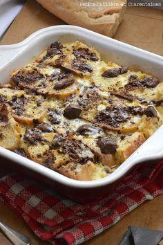 pain-perdu-au-four. Pain Perdu Nutella, Algerian Recipes, Algerian Food, Cake Factory, Beignets, Banana Bread, Good Food, Brunch, Dessert Recipes