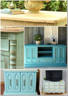 14 Jaw Dropping Furniture Makeovers - Alderberry Hill