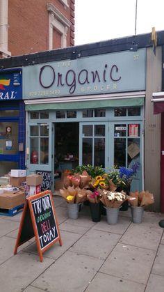 Organic grocer, Maida Vale