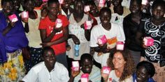 """Ruby Cup: """"Buy one, give one"""" menstrual cup on a social mission to help African schoolgirls"""