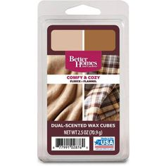 Better Homes and Gardens Wax Duo, Comfy and Cozy - Walmart.com