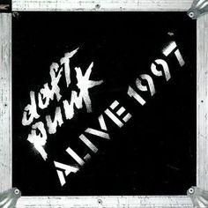 Daft Punk - Alive 1997 LP Record Album On Vinyl