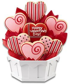 ideas de galletas en forma de corazon