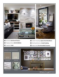 candice olson tells all fabulous family room - Google Search