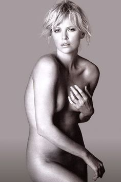 Charlize Theron #perfect #nude