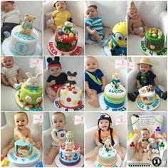 Repostando ideias fofas para Bebê @mluizadantas #mesversario de Menino! #festejandoemcasa #mesversariofc #caruaru #recife #gravida #mensario #maedemenino #gravidademenino