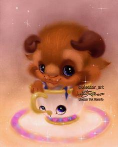 5c6b2723a7e111 Eleazar Del Rosario Disney Beast   Chip Art Disney