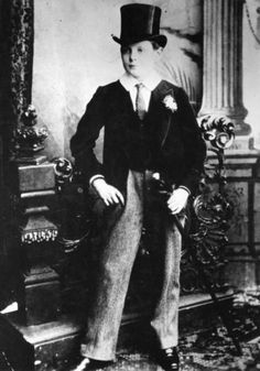 Winston Churchill at 14 years old