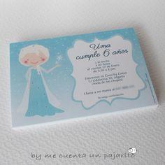 Invitación de cumpleaños de Elsa, Frozen, Disney