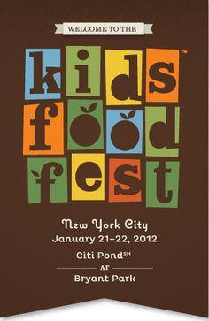 Kids Food Festival in NYC!