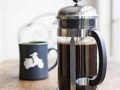 Brewing with a French Press | Ingredients 4 cup French Press scale electric kettle (or other water heating method) grinder timer or clock spoon freshly roasted whole coffee beans Preparation 11. Heat the water to just under a boil – about 200-205 degrees. If you don't have a thermometer, bring the water to a rolling boil and then remove it from []
