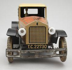 LEKSAKSBIL, Tipp & Co Coupé, Tyskland, omkring 1930. Märkt T.C. 22730.