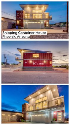 Produced using the a large number of surplus containers that sit on docks far and wide, shipping container homes are regularly adulated as an eco-accommodating and strong option in contrast to customary structure materials. Cargo Container Homes, Shipping Container Home Designs, Storage Container Homes, Container Buildings, Container Architecture, Container House Design, Architecture Design, Container Houses, Shipping Containers