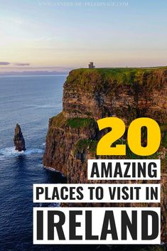 A massive list of the 20 best things to do in Ireland. Where to go, when to visit and where to stay - this Ireland travel guide will help you plan your perfect Ireland itinerary. Go on the road trip o Cool Places To Visit, Places To Travel, Places To Go, Oregon, Ireland Travel Guide, Ireland Vacation, Europe Destinations, Roadtrip, European Travel