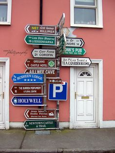 """""""Sign, sign, everywhere a sign""""...Irish Street Signs by emmikphotography on Etsy.com"""