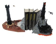 More fabulous Lego! Check out these brilliant Lord of the Rings bookends!The Two Towers, via Flickr.