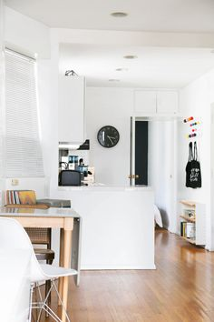 Brimming with Art, a Bright and Tiny Walk-up in Soho | Design*Sponge