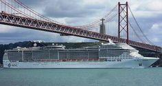 MSC Cruzeiros lidera o mercado de cruzeiros em Portugal! | Algarlife