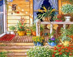 Pretty Porch (414 pieces)