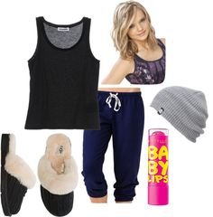 """""""Bedtime :)"""" by raechelk ❤ liked on Polyvore"""