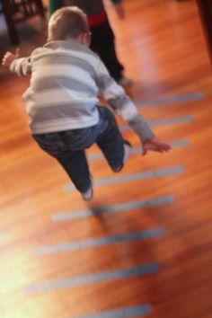See how far kids can jump!