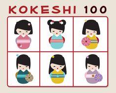 Creative Project: The Kokeshi 100