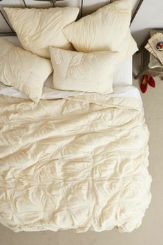 492-NIP-ANTHROPOLOGIE-Dulcie-KING-QUILT-4-Shams-Comforter-Bedding-Machine-Wash