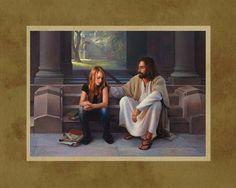 """""""The Master's Touch"""" ~ Greg Olsen"""