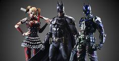 New Photos of Batman: Arkham Knight – Play Arts Kai Arkham Knight Figure Batman Arkham Knight, Dc Characters, Aquaman, New Image, Harley Quinn, Superman, Kai, Wonder Woman, Superhero
