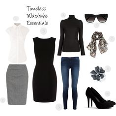 Winter Wardrobe Essentials | The timeless wardrobe pieces in your closet will come in handy when ...