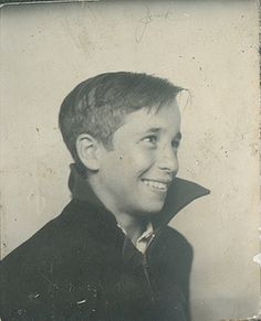 1930-40's Young Boy With great smile, great hair and high Collared Coat by captainpandapants, via Flickr